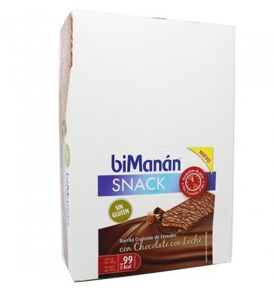 Bimanan Snack Gluten-free milk Chocolate with 20 Bars
