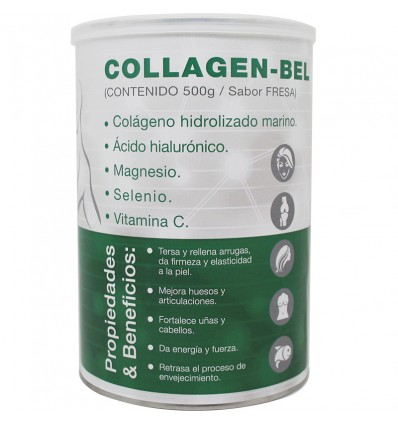 Collagen Bel 500 gramas de Morango Nutribel oferta