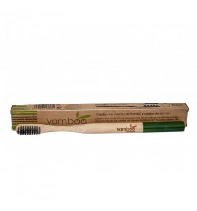 Vamboo Cepillo Bambu Adultos 96% Biodegradable