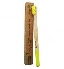 Vamboo Cepillo Suave Bambu Adultos 96% Biodegradable