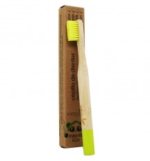 Vamboo Cepillo Suave Bambu Niños 96% Biodegradable