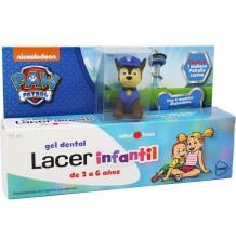 Lacer Infantil Gel Fresa 75 ml + Muñeco Patrulla Canina