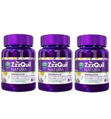 Zzzquil Natura Melatonin 90 Gummy Three 30-Gummy