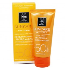 Apivita Suncare Crema Facial Antimanchas SPF50 50 ml