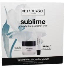 Bella Aurora Sublime Crème anti-Vieillissement de la Spf20 50 ml + Contour des Yeux 15 ml