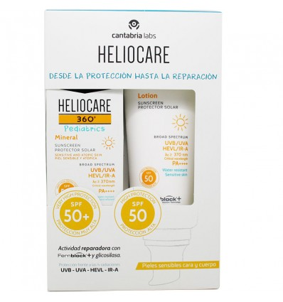 Heliocare 360 Pediatrics Mineral 50 ml Locion Spf50 200 ml