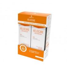 Heliocare Advanced Gel de la crème solaire Spf50 Duplo 2x200ml