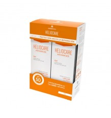 Heliocare Advanced Gel Spf50 Protetor Solar Duplo 2x200ml
