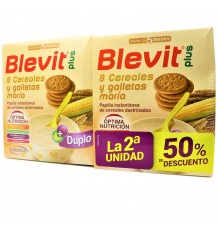 Blevit Plus 8 Cereals Cookie Maria Duplo 2x600 grams