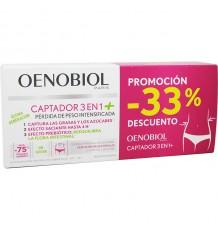 Oenobiol Sensor 3 em 1 Plus Duplo 2x60 cápsulas