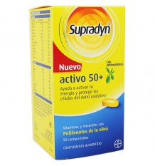 Supradyn Active 50+ Antiox 90 tablets