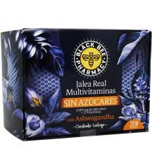 Black Bee Geléia Real Multi-Sem Açúcares Ashwagandha 20 Ampolas