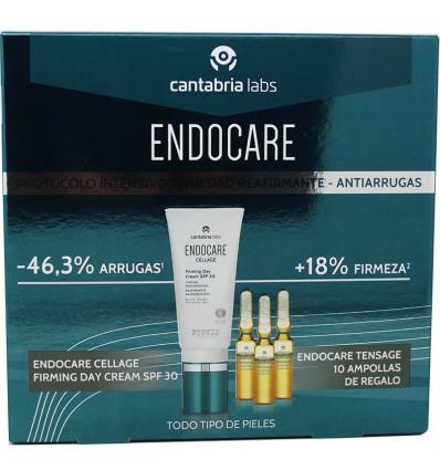 Endocare Cellage Firming Day Cream Spf30 50 ml Ampollas Tensage Regalo