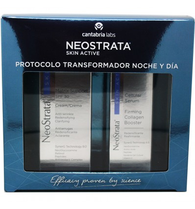 Neostrata Skin Active Matrix Support Spf30 Crema 50g Cellular Serum 30ml