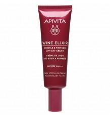 Apivita Wine Elixir Crema Antiarrugas SPF30 Efecto Lifting 40ml