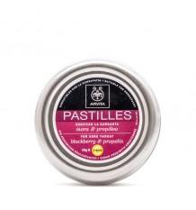 Apivita Pastillas Mora y Propoleo 45 g