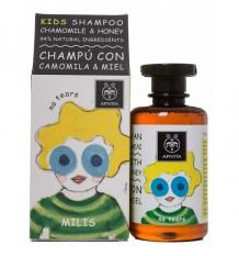 Apivita Kids Xampu Crianças Camomila, Mel Milis 250 ml