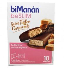 Bimanan Beslim Toffee Caramelo 10 Barritas
