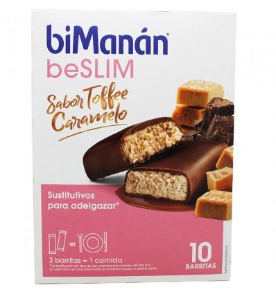 Bimanan Beslim Toffee De Caramelo 10 Barrinhas