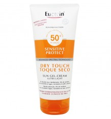 Eucerin Solar 50+ Gel Crema Dry Touch Toque Seco 200 ml