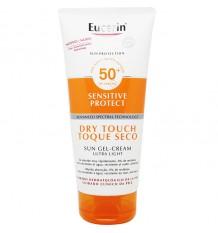 Eucerin Solaire 50+ Gel-Crème Toucher Sec Sec au Toucher 200 ml