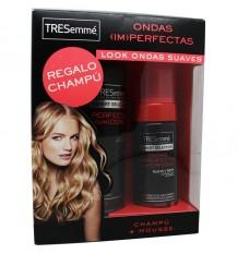 Tresemme Shampoo Soft Waves 500 ml Gift Mousse