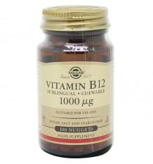 Solgar Vitamin B12 1000µg 100 Compimidos Sublingual