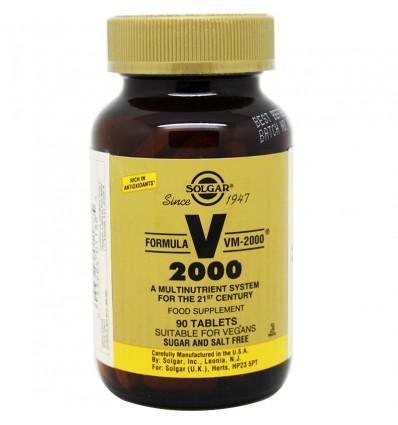Solgar Formula Vm-2000 90 Comprimidos