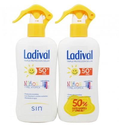 Ladival Niños 50 Spray 200 ml Duplo Promocion