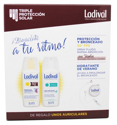 Ladival 50 Proteccion y Bronceado + Hidratante Verano 150ml
