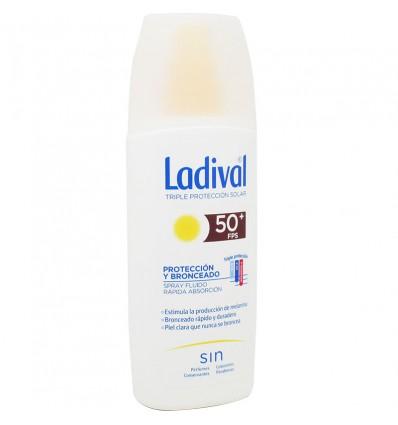 Ladival 50 Proteccion y Bronceado Spray 150 ml