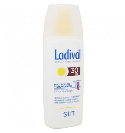 Ladival 30 Proteccion y Bronceado Spray 150 ml