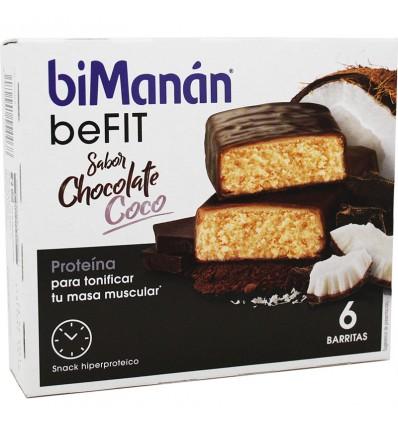 Bimanan Anstehen-Bar Schokolade-Kokos 6 Einheiten
