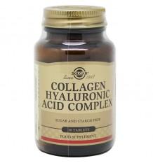 Complexe d'Acide Hyaluronique de Collagène Solgar 30 Comprimés