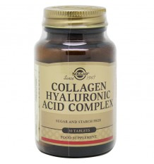 Solgar Collagen Hyaluronic Acid Complex 30 Comprimidos