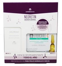 Neoretin Discrom Control Gel Cream Spf50 40 ml + 7 Ampollas Endocare Oil free