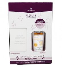 Neoretin Discrom Control Serum Booster 30 ml Regalo Heliocare Gel 360