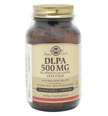 Dlpa 500 mg Fenilalanina Solgar 50 Capsulas