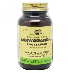 Ashwagandha Solgar Root 60 Capsules