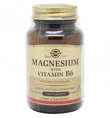 Solgar Magnesio B6 100 Comprimidos
