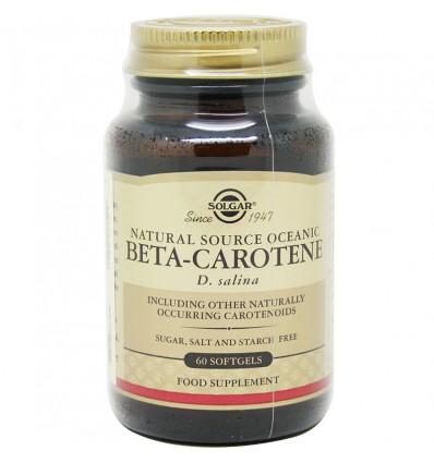 Betacaroteno Solgar Oceanico 60 Capsulas
