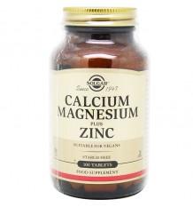 Solgar Cálcio Magnésio Zinco Plus 100 comprimidos