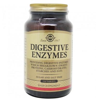 Enzimas Digestivas Solgar 250 comprimidos