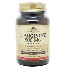 Solgar L-Arginina 500mg 50 Capsulas