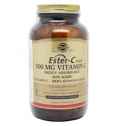 Ester C Plus 500 mg 250 Capsulas Solgar