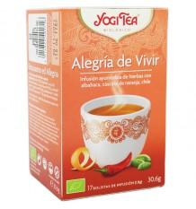 Yogi Tea Alegria de Viver 17 Saquinhos