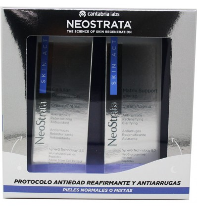 Neostrata Skin Active Pack Crema Cellular Restoration Crema Matrix Spf 30