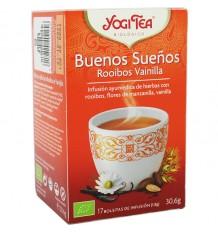 Yogi Tea Bons Rêves Rooibos À La Vanille 17 Sachets