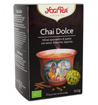 Yogi Tea Masala Chai Doce 17 Saquinhos