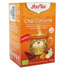 Yogi Tea Chai Curcuma 17 Bolsitas